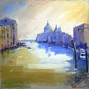 Great Pastels - Canale Grande by Viacheslav Rogin