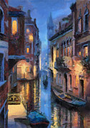 Grande Painting Framed Prints - Canale Venice Framed Print by Georgi Dimitrov