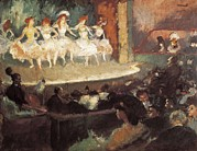 Ballet Dancers Art - Canals I Llambi, Ricard 1876-1931. Café by Everett