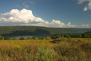Finger Lakes Photo Originals - Canandaigua Lake end of Summer by Steve Clough