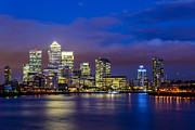 A Souppes - Canary Wharf Twilight