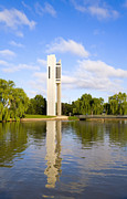 Canberra Prints - Canberra The Carillon Print by Colin and Linda McKie