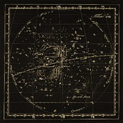 Cancer Constellations, 1829 Print by Science Photo Library