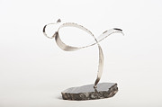 Plasma Cutter Sculptures - Cancer Survivor -1 by Jon Koehler