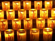 Lumiere Photos - Candlelights - Bougies Notre Dame De Paris - Paris - France by Francoise Leandre