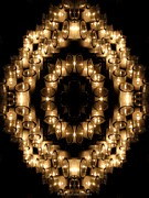 Rose Santuci-Sofranko - Candles Abstract 6