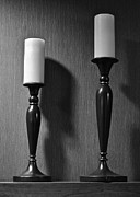 Candle Stand Photo Posters - Candlestick Poster by Robert Harmon