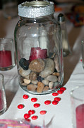 Bottled Prints - Candy and Rocks Print by Terry Thomas