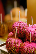 Nut Photos - Candy Apples by Amy Cicconi