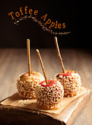 Glazed Posters - Candy Apples Poster by Christopher and Amanda Elwell