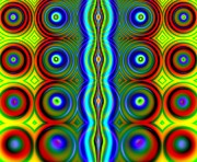 Candy Dots Fractal Print by Rose Santuci-Sofranko