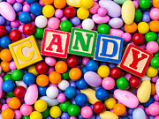 Fielding Prints - Candy Print by Edward Fielding
