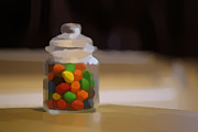 Candy Digital Art - Candy jar by Marcel Verhaar