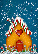 Cookie Prints - Candy Lane Print by Brenda Bryant