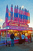 Candy Digital Art - Candy Shoppe oil by Steve Harrington