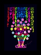 Candy Digital Art - Candy Tree by Meenakshi Shrivastava