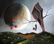 Pop Surrealism Paintings - Candyland by Shawna Erback by Shawna Erback