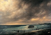 Mondjulygp1 Art - Canella Giuseppe, Storm On The Beach by Everett