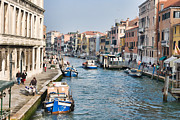 Historical Buildings Posters - Cannaregio Canal in Venice Poster by Gabriela Insuratelu