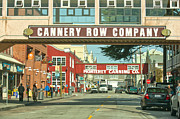 Author And Photographer Laura Wrede Posters - Cannery Row Monterey California Poster by Author and Photographer Laura Wrede
