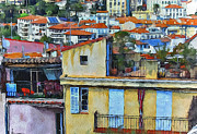 Old Town Digital Art Prints - Cannes 1 Print by Yury Malkov