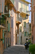 Village Views Prints - Cannes - Le Suquet - France Print by Christine Till
