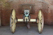 Confederate Posters - Cannon at San Francisco Fort Point 5D21490 Poster by Wingsdomain Art and Photography