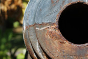 Iron Photos - Cannon Barrel Fountain of Youth by Christine Till