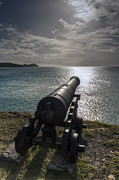 Pirates Photo Originals - Cannon in Antigua by Pier Giorgio Mariani