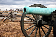 War Images Metal Prints - Cannon Muzzle Metal Print by John Rizzuto