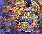 Mark Howard Jones Metal Prints - Cannondale Metal Print by Mark Howard Jones