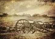 Pea Ridge Posters - Cannons at Pea Ridge Poster by Pam  Holdsworth
