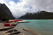 Nick Jene - Canoes At Lake Louise...