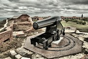 Fort Jefferson Metal Prints - Canon Fire 360 Metal Print by Adam Jewell
