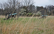 Stonewall Prints - Canon in the Grasses of Manassas National Battlefield Park Print by Bruce Gourley