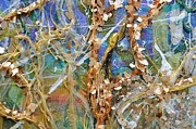 Extruded Framed Prints - Canopy detail 1 Framed Print by Regina Valluzzi