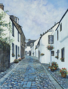 Genealogy Painting Prints - Cantle of the Causey at Culross Print by Stella Turner