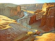 Canyon De Chelly Print by Paul Krapf