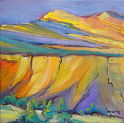 Pinion Paintings - Canyon Dreams 33 by Pam Van Londen