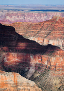 Layers Framed Prints - Canyon Layers Framed Print by David Bowman