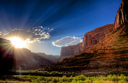 Negro Photos - Canyon Sunset by William Wetmore