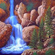 Frank Wilson - Canyon Waterfall