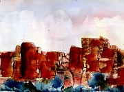 Canyons Painting Prints - Canyonlands Print by Anne Duke