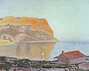 Paul Signac Paintings - Cap Canaille by Paul Signac