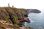France Prints - Cap Frehel in Brittany France Print by Olivier Le Queinec