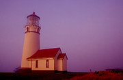 Joe Klune Metal Prints - Cape Blancho lighthouse Metal Print by Joe Klune
