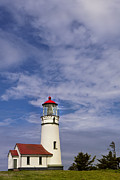 Blanco Framed Prints - Cape Blanco Lighthouse Framed Print by Andrew Soundarajan