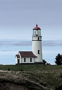 Port Orford Framed Prints - Cape Blanco Lighthouse Framed Print by Betty Depee