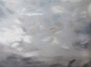 Cape Cod Paintings - Cape Cod Abstract Ocean and Sky by Patrick Mancini