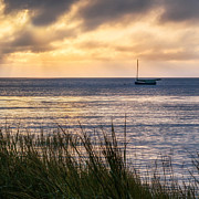 Cape Cod Bay Square Print by Bill  Wakeley